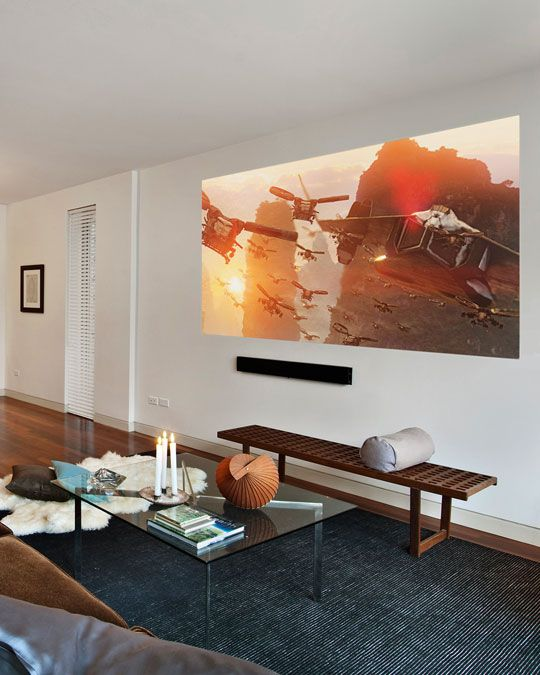 Theater Room With Hidden Projector: Tech 101: A Crash Course In Home Theater Projection
