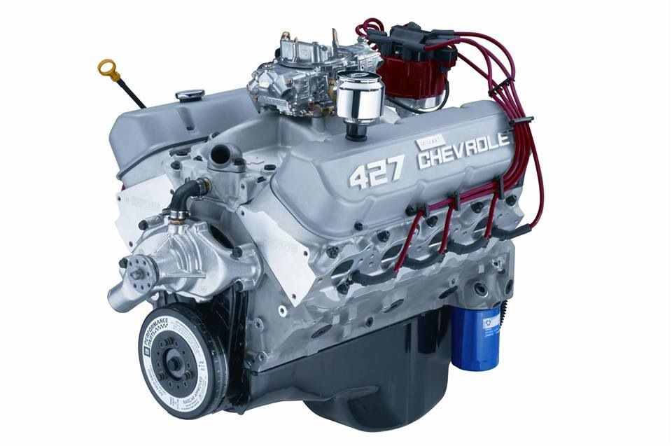 Powerful Chevy 427 Engine Engineering Chevy Motors Crate Engines