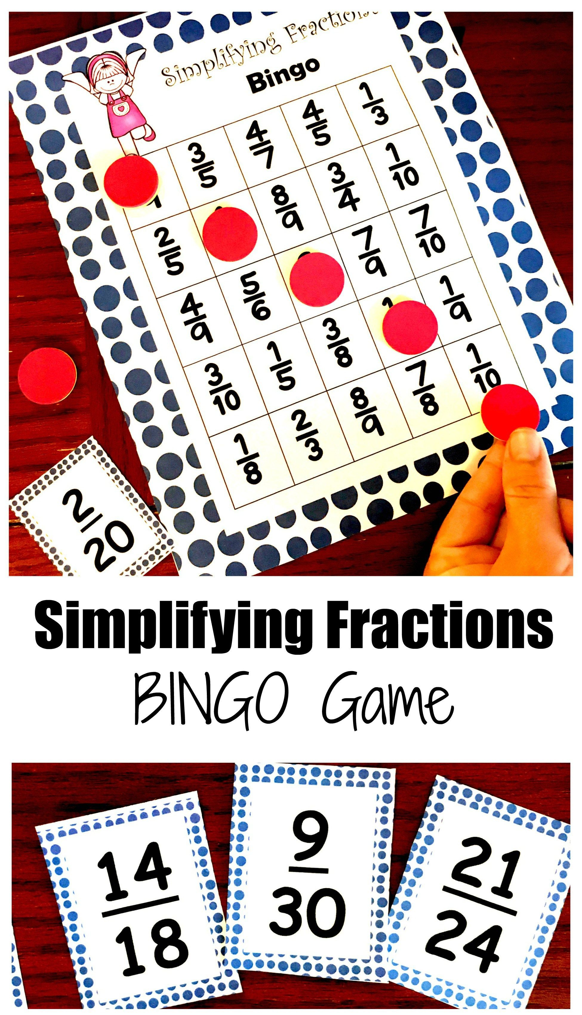 Practice Simplifying Fractions With This Free Simplifying