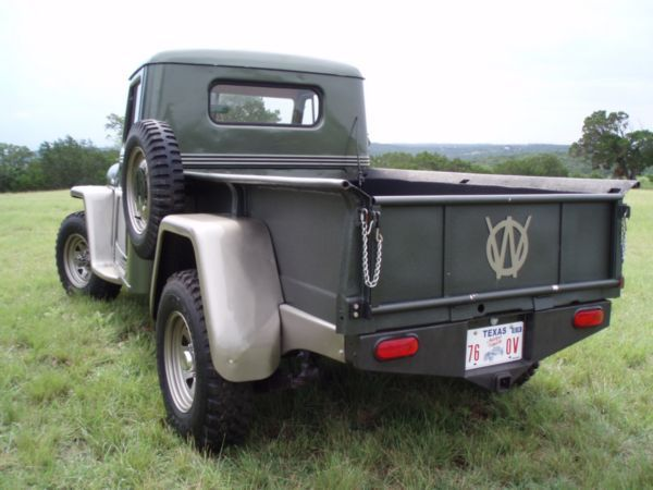 Willys Truck Tailgate Jeeptruckcom For Sale 1954 Willys Pickup