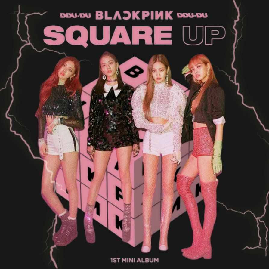 Blackpink Ddu Du Ddu Du Square Up Album Cover 3 By Https