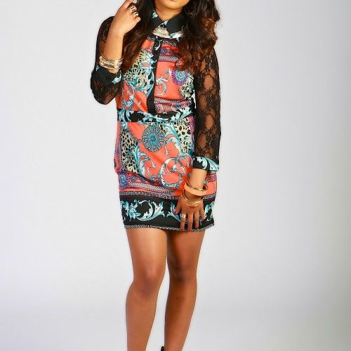 Olympia lace dress