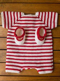 54f6167c5 María entre labores: Pelele marinero | bb pelele | Ganchillo bebe, Punto  bebé, Bebe