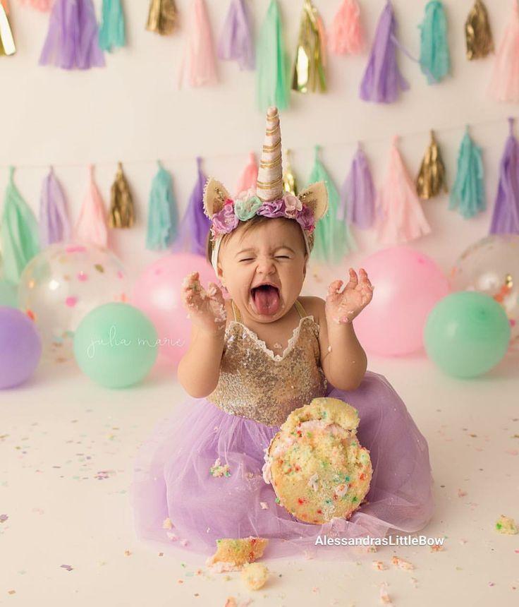 Gracie Dress In Lavender And Gold Unicorn Theme Birthday Dress First Birthday Outfit Cake Smash Dress 12months 5t Jentebursdag Bursdagsfester Unicorn Bursdag