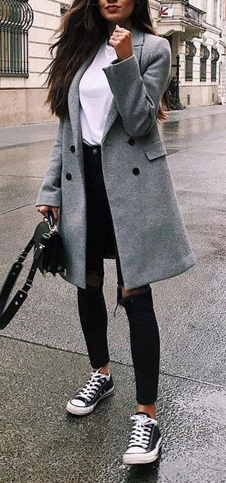 45 cute winter outfits for shopping 3/36 #winter #fittings