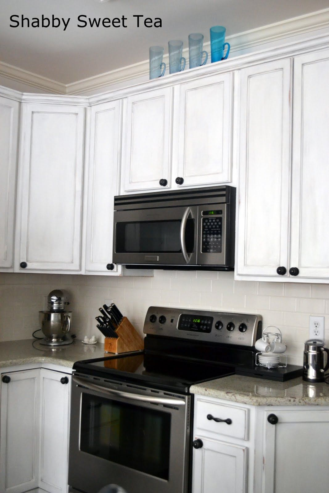 Shabby sweet tea annie sloan chalk paint kitchen cabinets love the