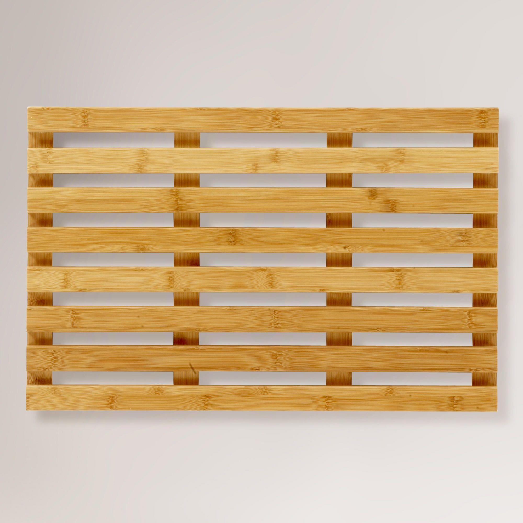 sorema bamboo spa bath mat