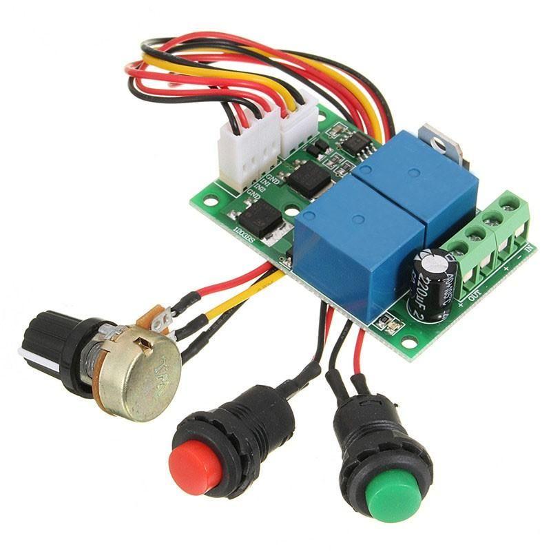 PWM 6V-24V DC Motor Controller Electric Drive Pusher Linear ...