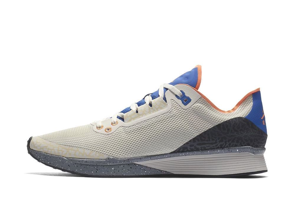 f4d1faa28b9c0 Jordan 88 Racer Mens Running Shoes Birch Bright Mandarin Royal Blue  Jordan   RunningShoes