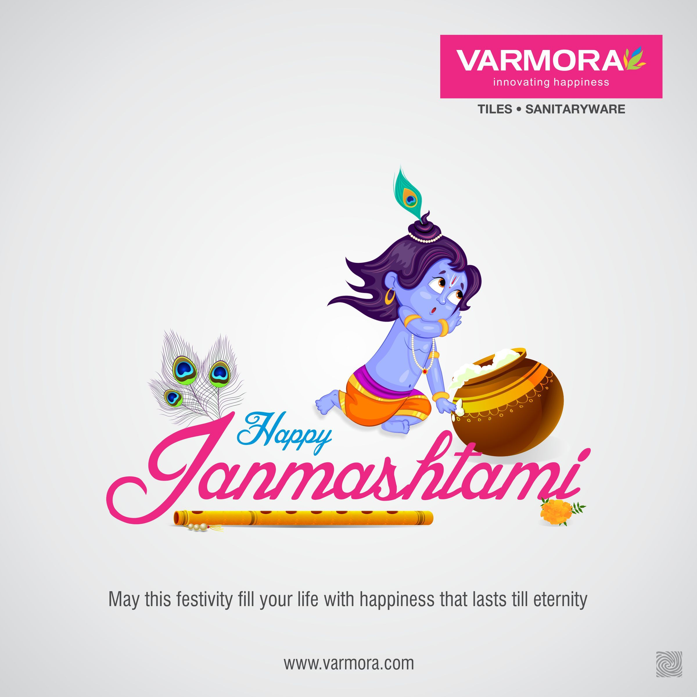 May This Festivity Fill Your Life With Happiness That Lasts Till Eternity Happy Janmashtami Wishes Happy Happy Janmashtami Janmashtami Wishes Krishna Flute