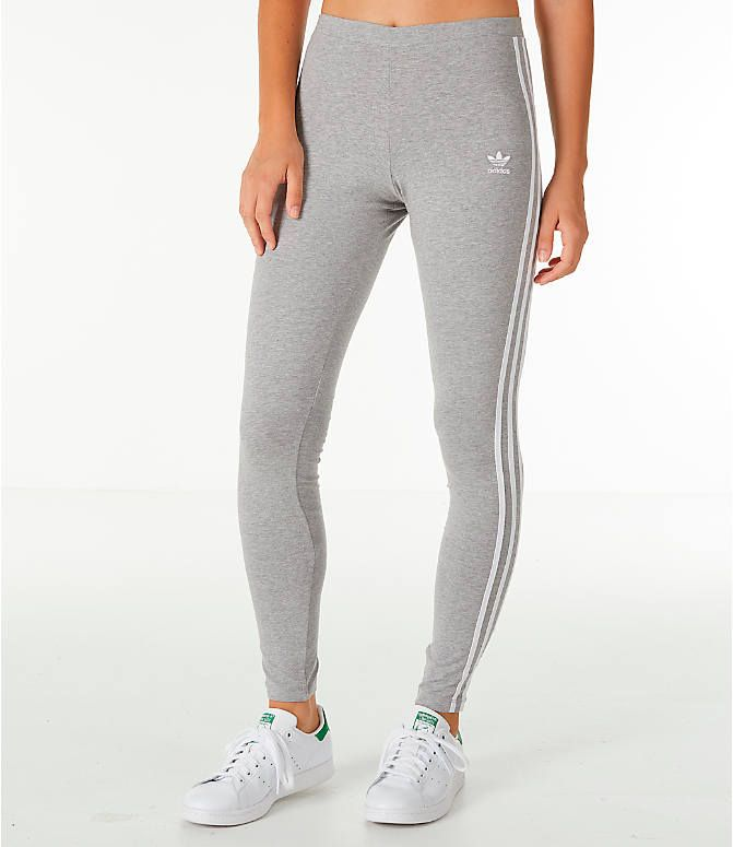 Women's adidas Originals Trefoil 3-Stripes Leggings #adidasclothes