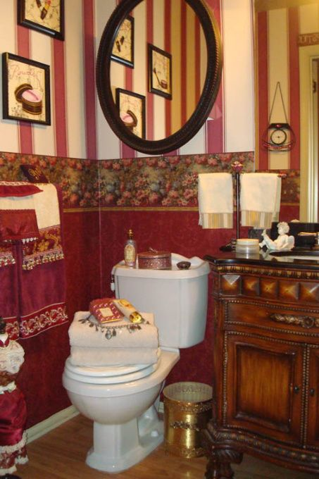 Victorian Decorating Ideas Victorian Bathroom, I turned this small