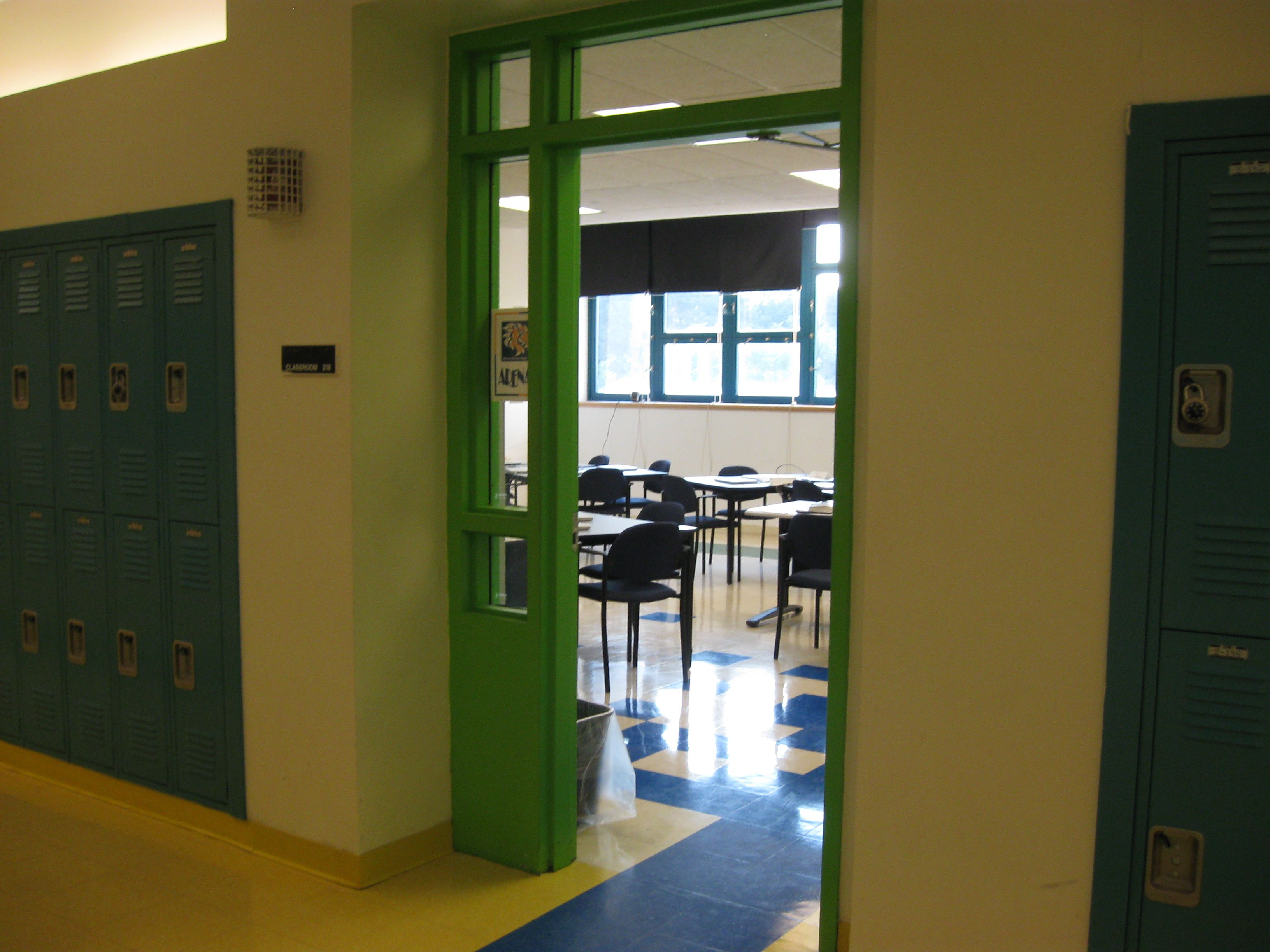 High School Classroom Door Design Inspiration
