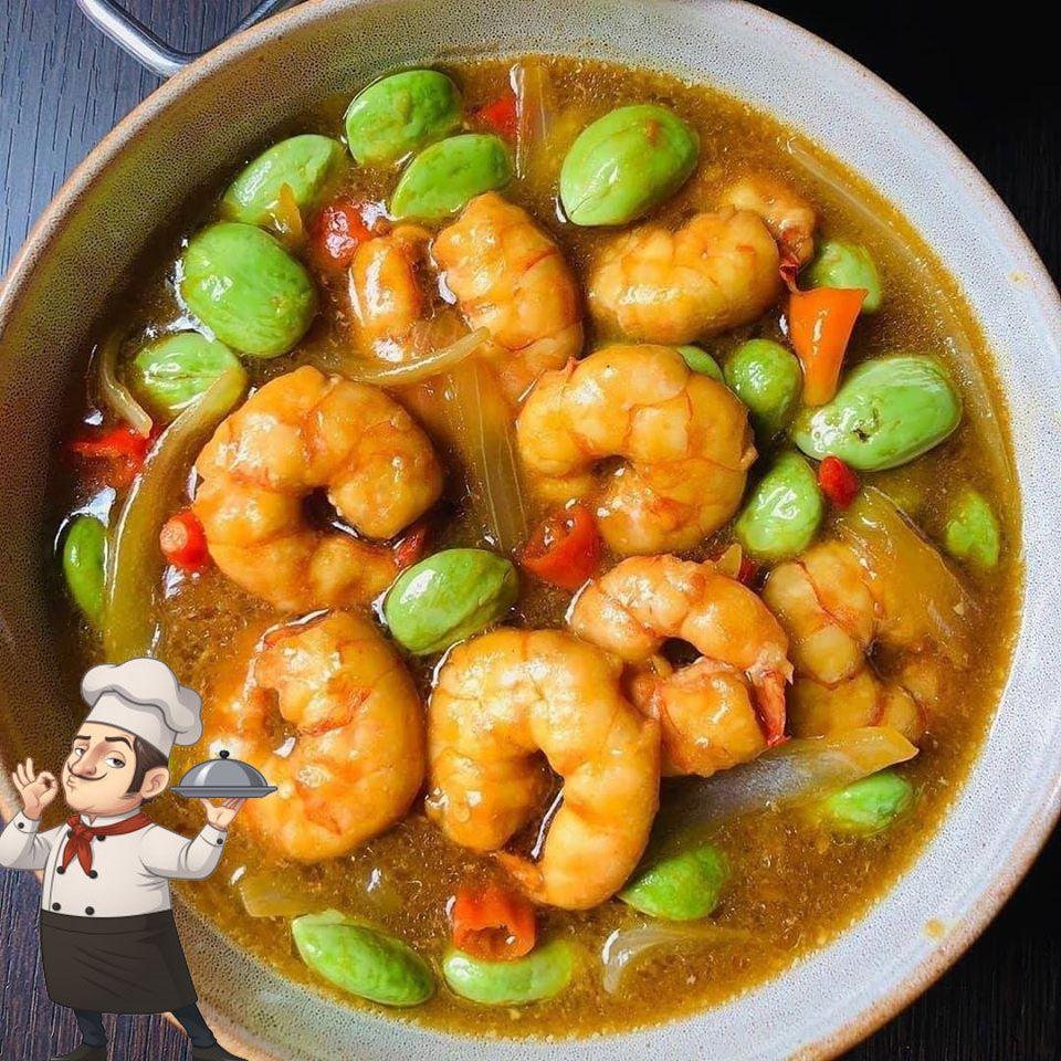 Udang Pete Asam Jawa Khas Bangka Recipes Food Pete