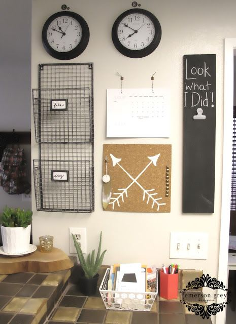 Could be really cool in office to have different time zones and areas set up. (Maybe do on far wall near entrance).