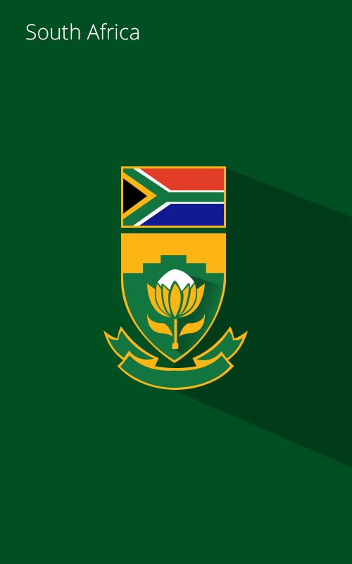 South African Cricket Symbol Design Collection Pinterest Cricket
