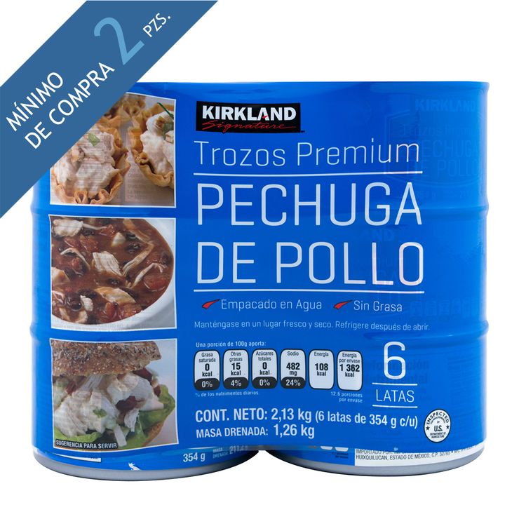 Kirkland Signature Pechuga De Pollo 6 De 354 G Costco Mexico