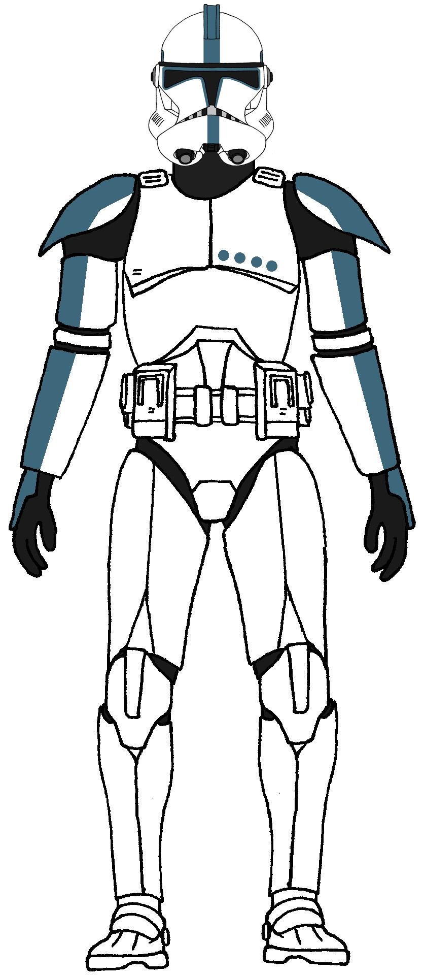 Clone Trooper Lieutenant Phase 2 Star Wars Clone Wars Star Wars Pictures Clone Trooper