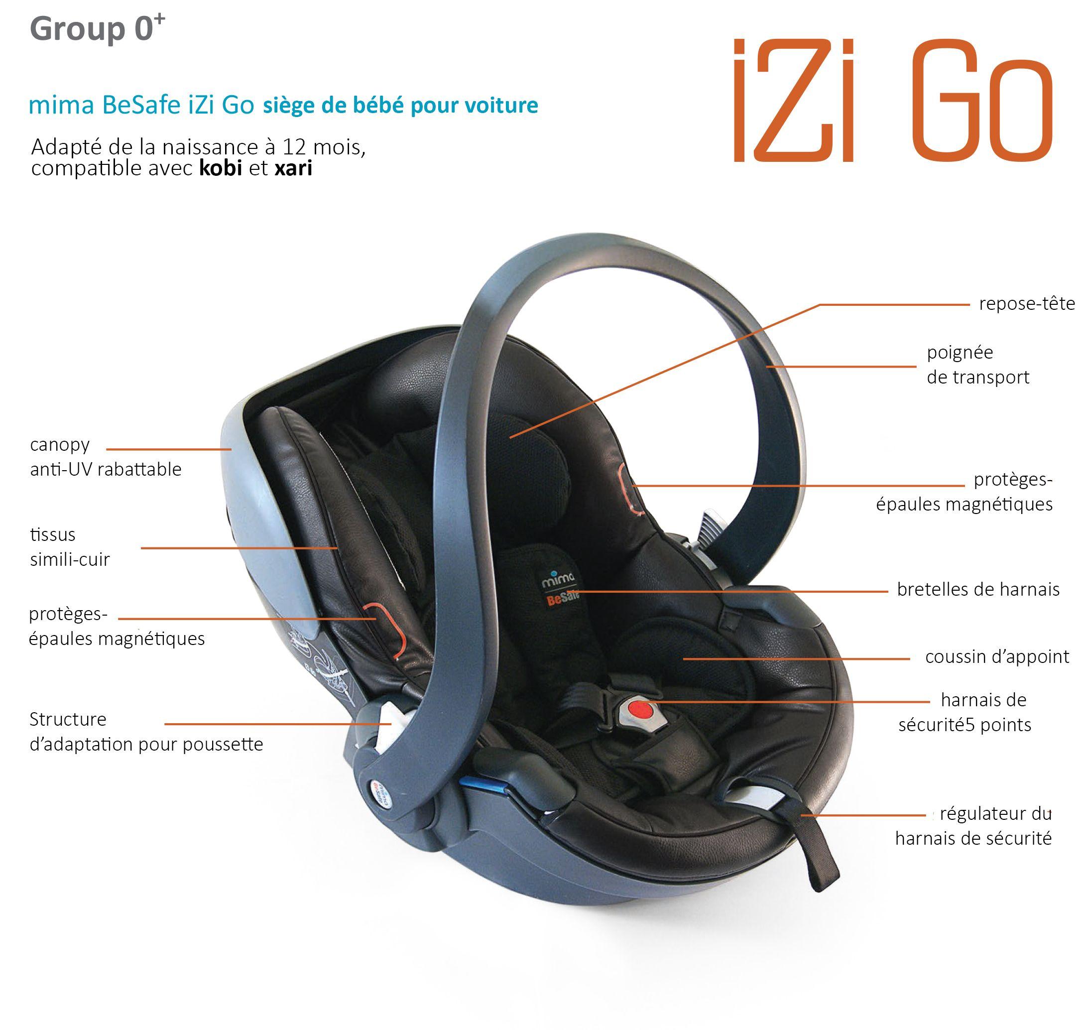 a89c36eed besafe izi go grp0+ car seat mima | Baby | Car seats, Baby Room i Baby