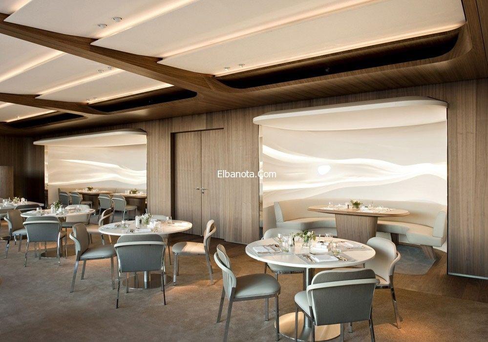 ديكورات مطعم بايريشر بالمانيا ديكورات مطاعم فخمة تصميم ديكورات مطعم بايريشر Modern Restaurant Restaurant Interior Design Restaurant Interior