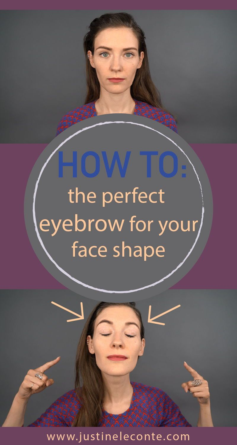 How to find the perfect eyebrow shape for your face? This ...