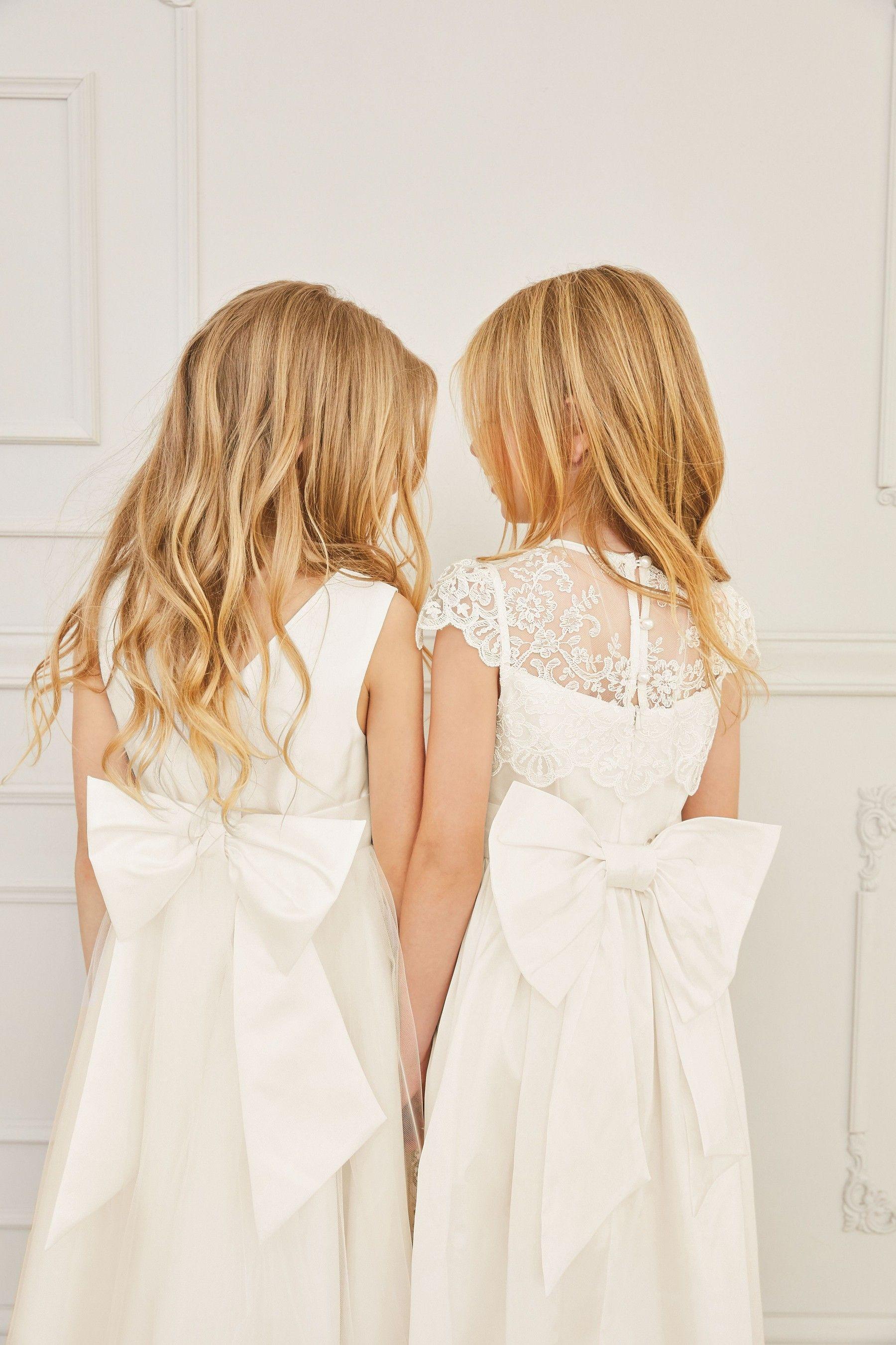 Buy ecru lace bodice dress 316yrs from the next uk