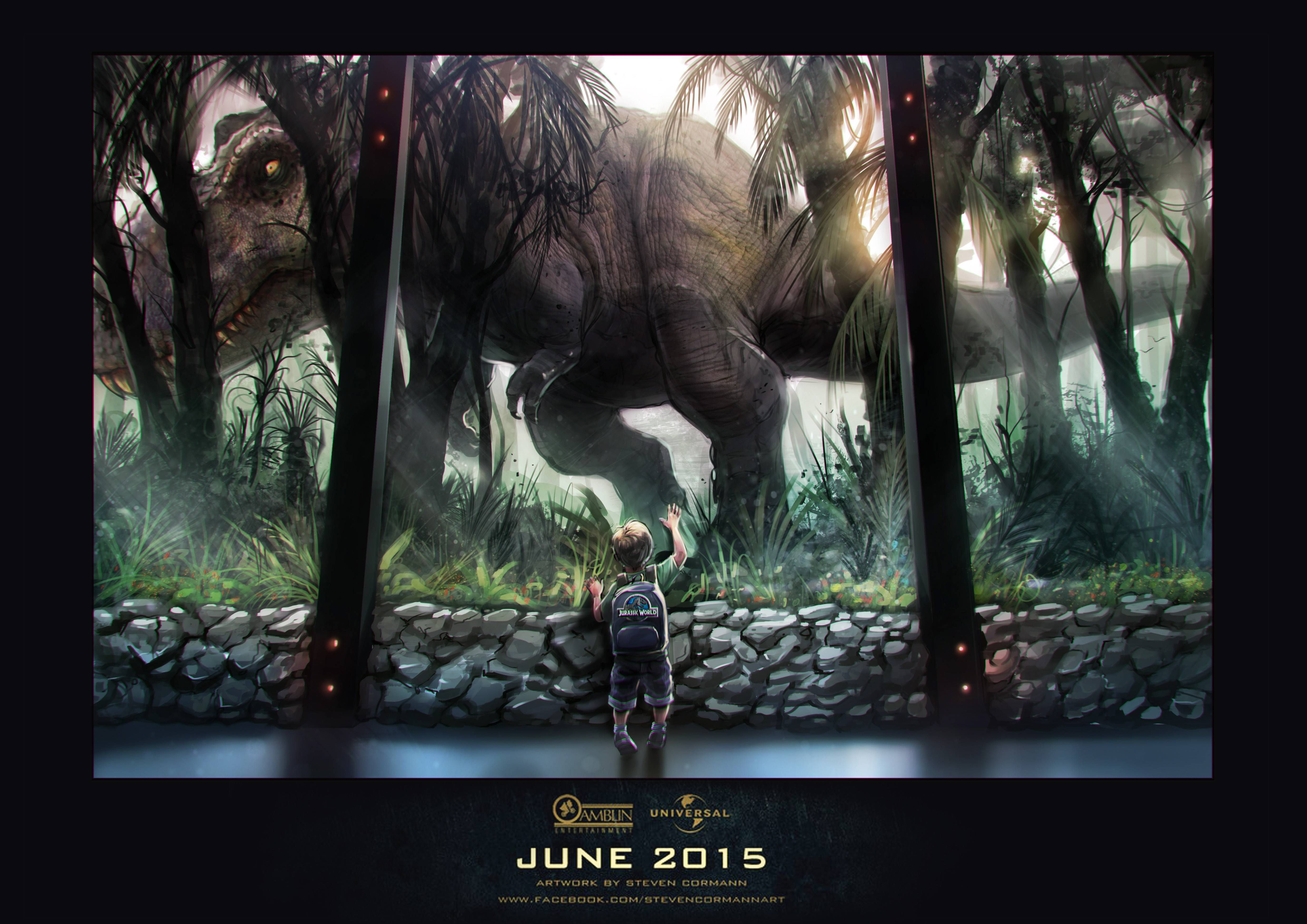 Latest good looking Jurassic World desktop wallpapers
