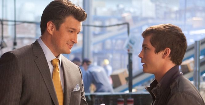 'Percy Jackson: Sea of Monsters' director on Nathan Fillion, one of my favorite scenes.