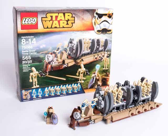 Battle Droid Troop Carrier | LEGO Star Wars Theme | Pinterest | Lego ...