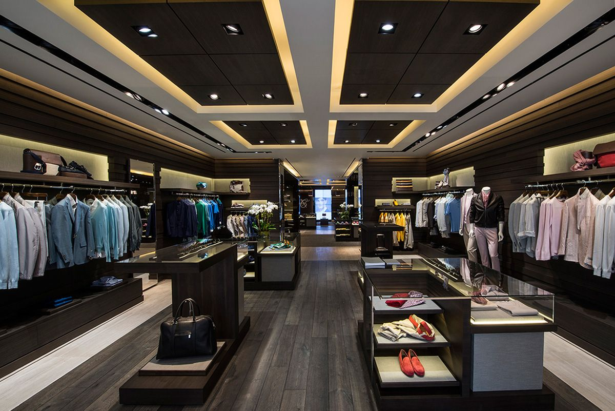 The Canali Boutique At 625 Madison Ave In New York Stores