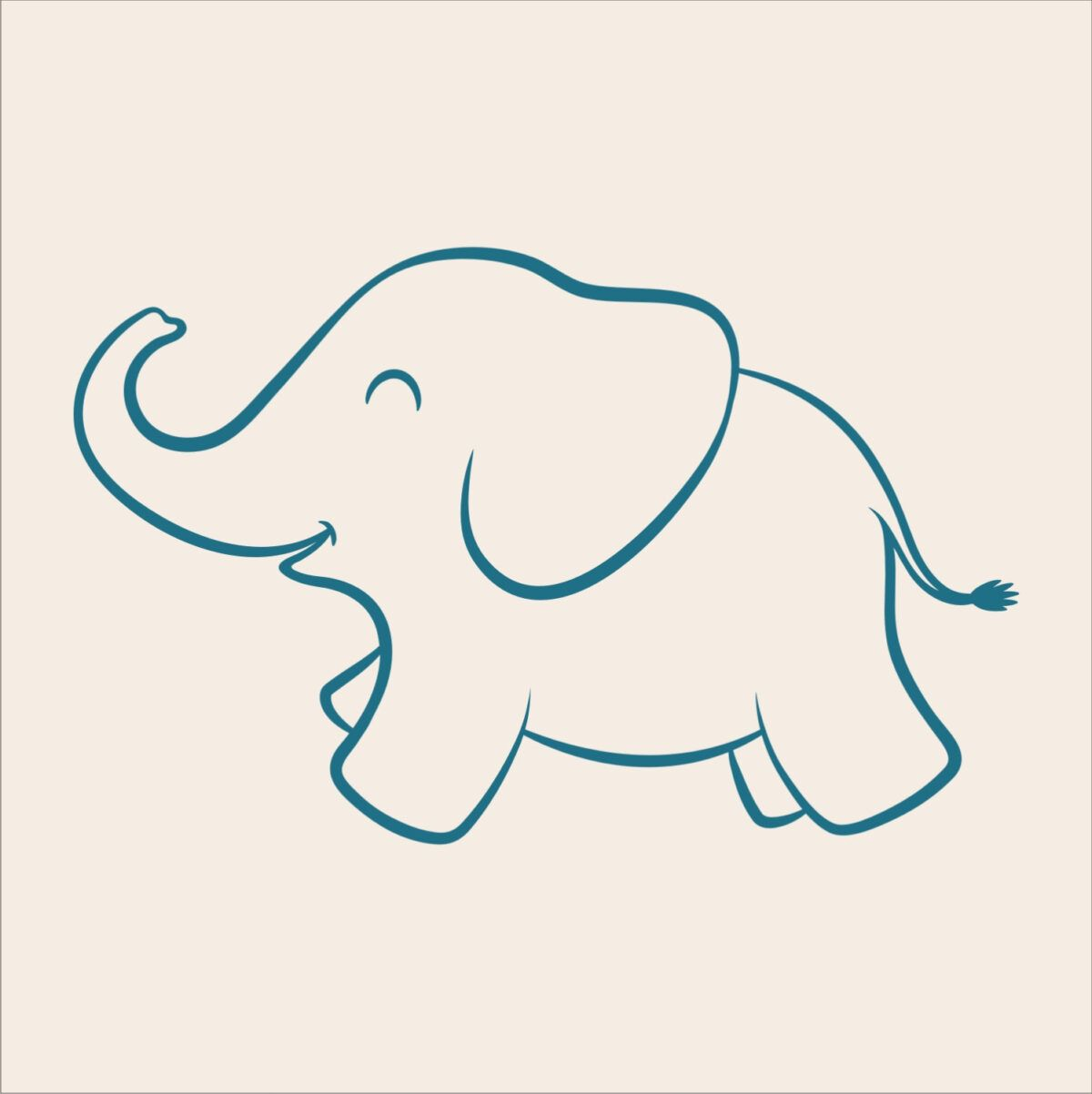 Free Baby Elephant Stencil Download Free Clip Art Free With Blank Elephant Template Elephant Outline Elephant Stencil Elephant Tattoo Small