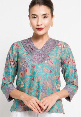 Foto Baju Batik Unik  Model Baju Batik Terbaru  Pinterest