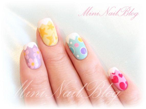 Adorable  Spring & Easter  Nail  Art  Ideas