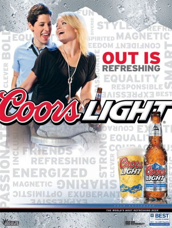 lgbt ads coors releases one of my lgbt ads gay issues
