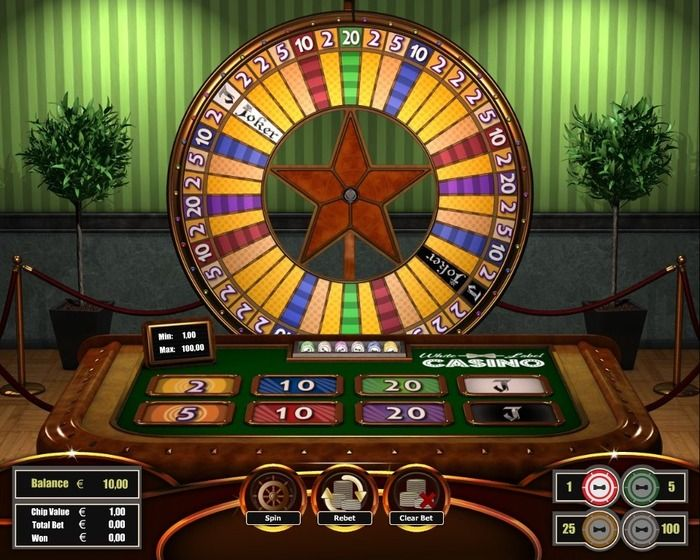 Wheel of Fortune - Table Casino Game Online - Play Free for Fun