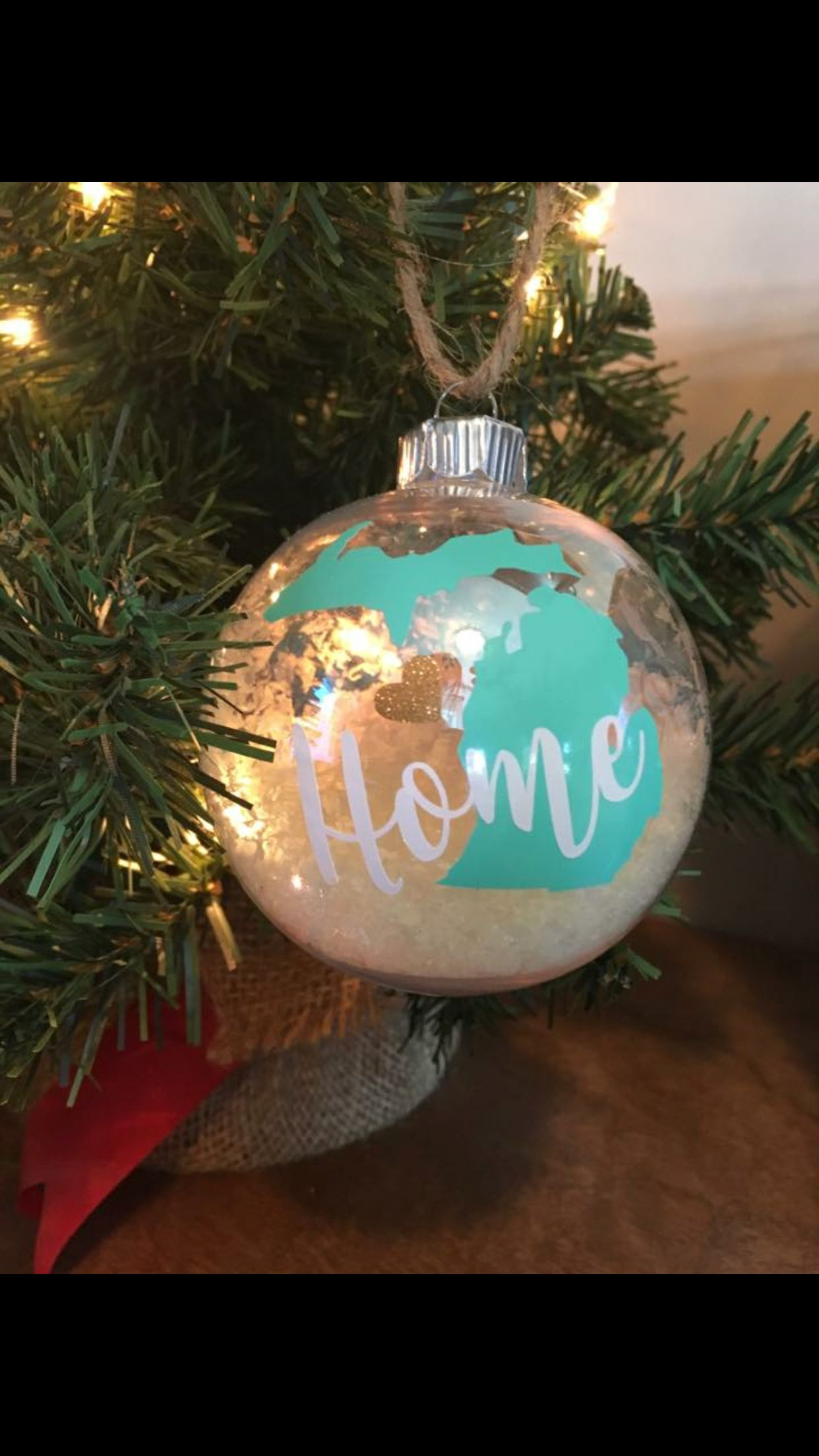 Now I Know What To Do With Those Blank Glass Ornaments Vinyl Christmas Ornaments Diy Christmas Ornaments How To Make Ornaments