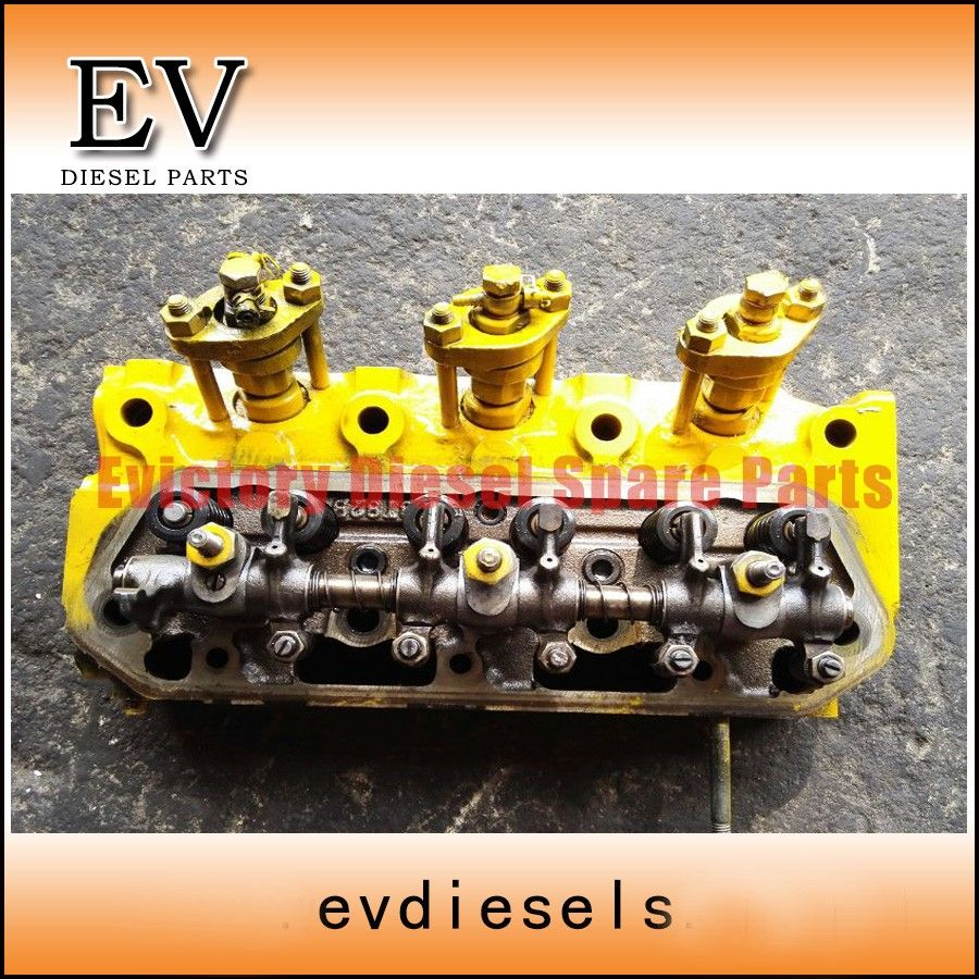 Gneuine Good Condition 3t82b 3t84 3d84 1 3t84hle Cylinder Head And Wiring Harness Komatsu Full Gasket Kit For