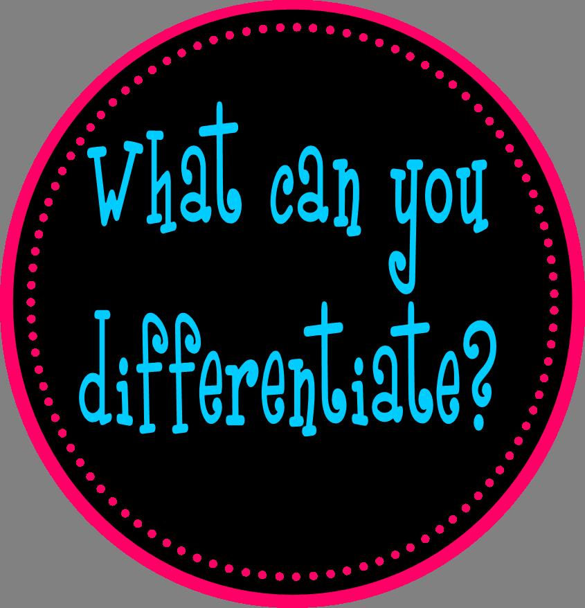 The Differentiation Destination What Is Differentiation Planning