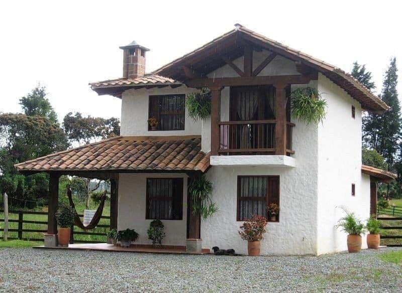 Casaa De Campo Diseno Casas Campestres Casas De Estilo Rural Casas De Fincas