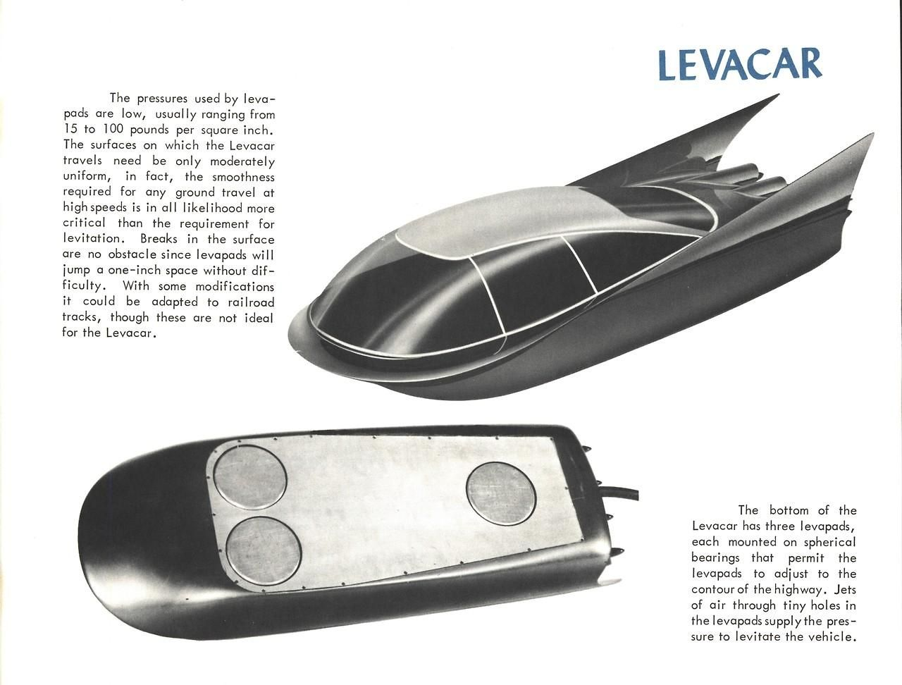 500mph Ford hovercar is the future we were promised
