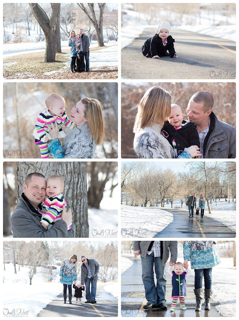 Owl S Nest Photography Winter Family Session Baby First Birthday Www Owlsnestphotography