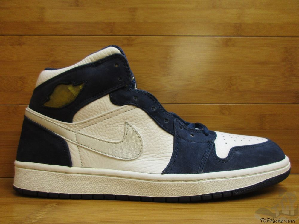 fe633a54488f22 Nike Air Jordan I 1 s Plus + sz 10.5 Retro Mid Japan Midnight Navy 2001 DS  White  Nike  AthleticSneakers