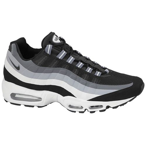 nike air max 95 white grey black