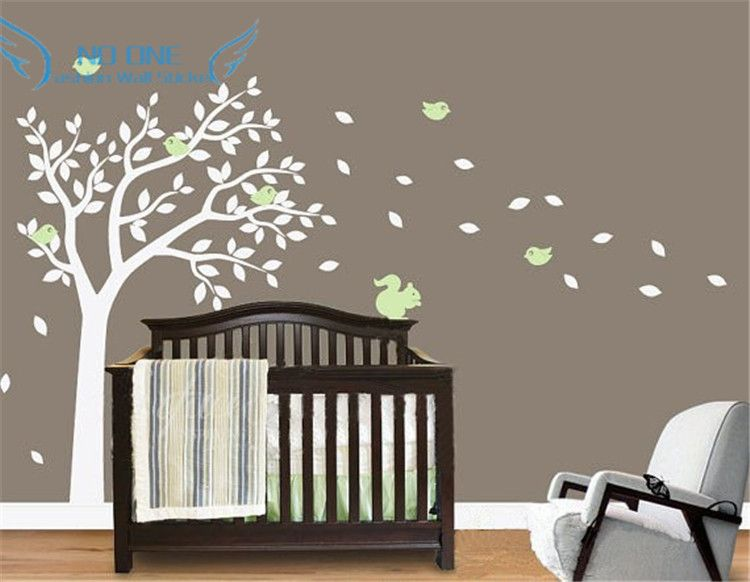 Nursery Wall Decals Ing Summer Tree Sticker For Boys And S Rooms Custom