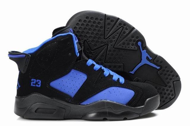 c150d1cd3f3c Air Jordan 6 Black Blue! 53.20USD