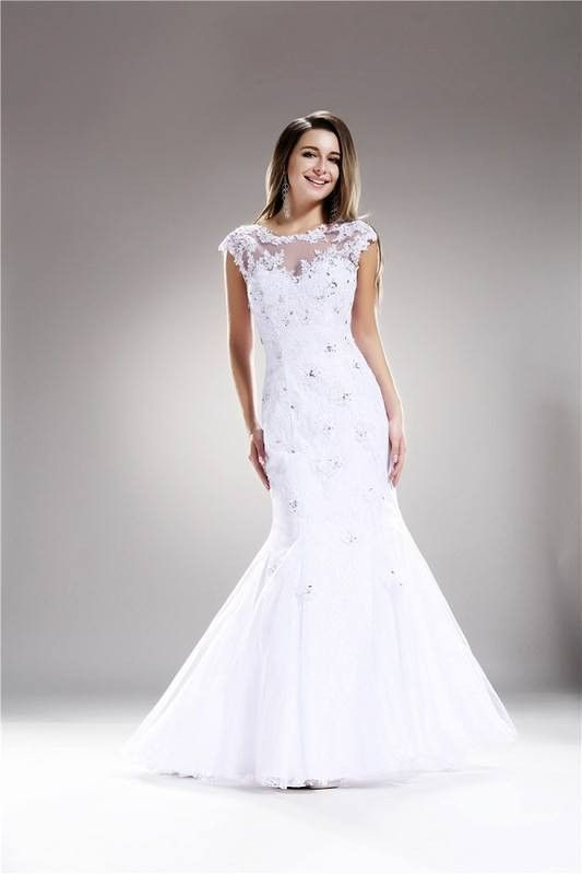 Affordable Fitted Wedding Dresses