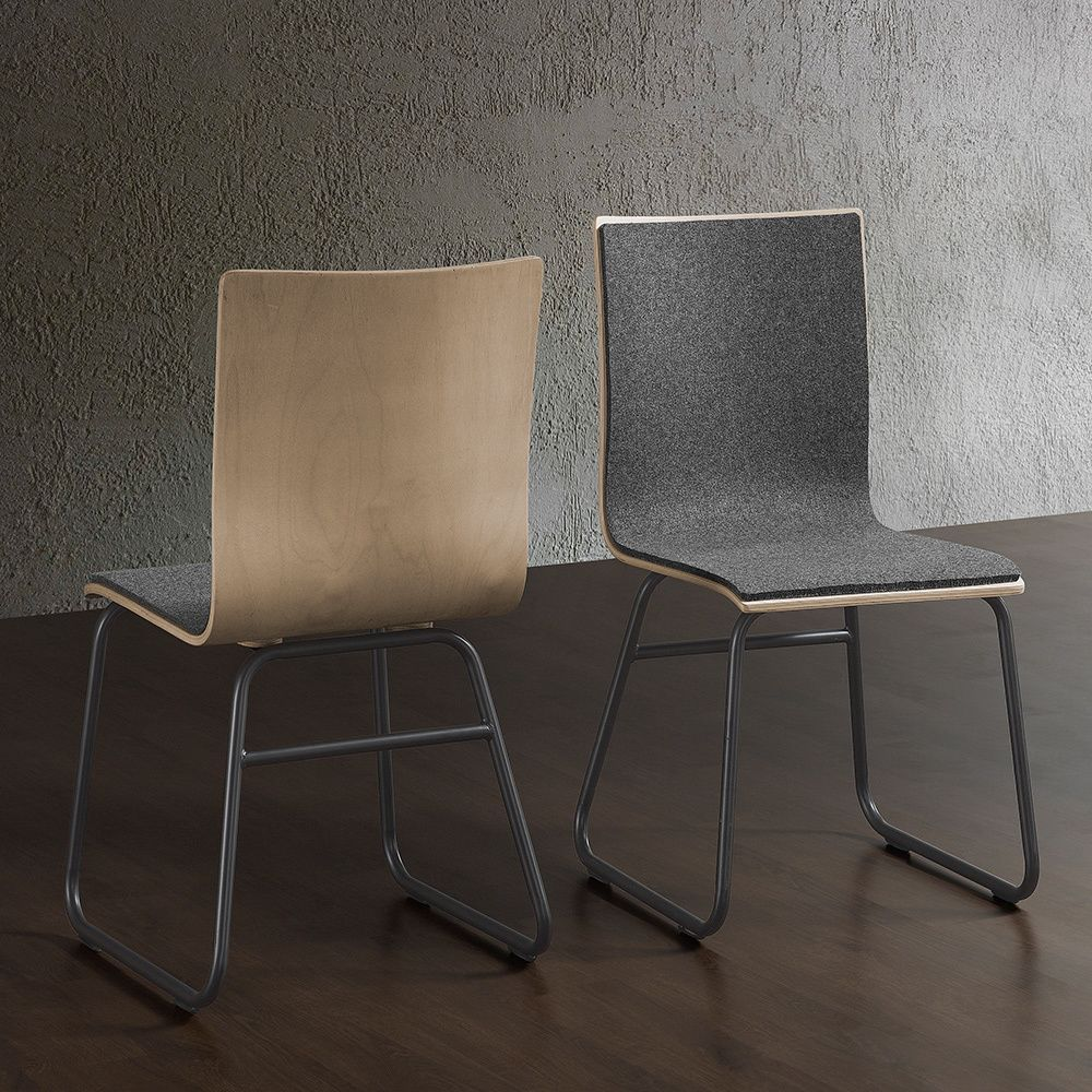 Felt Chairs Are Trending, The Simple Lines Of These Uniquely Attractive  Chairs Will Add Style