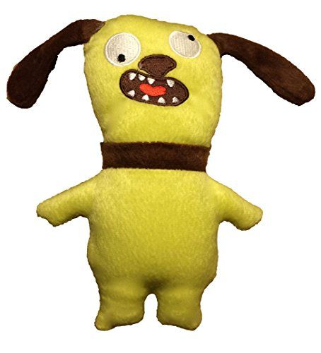 Dei Plush Ugly Dog Toy Green Im A Lucky Dog Learn More By