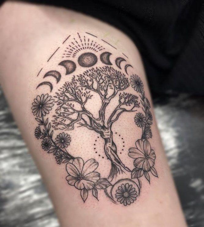 A List of 198 Spiritual Tattoo Ideas and Designs