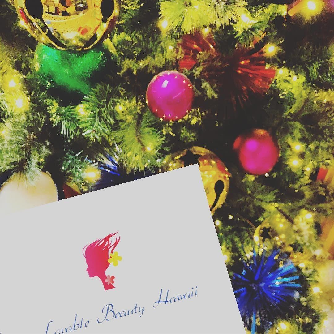 Merry Christmas ステキな今日を #lovablebeautyhawaii #merrychristmas ...